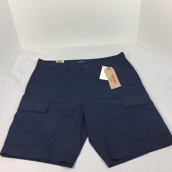 427c46243f Levi's Shorts | Mens Levis Cargo Navy Blue Sz32 Nwt | Poshmark